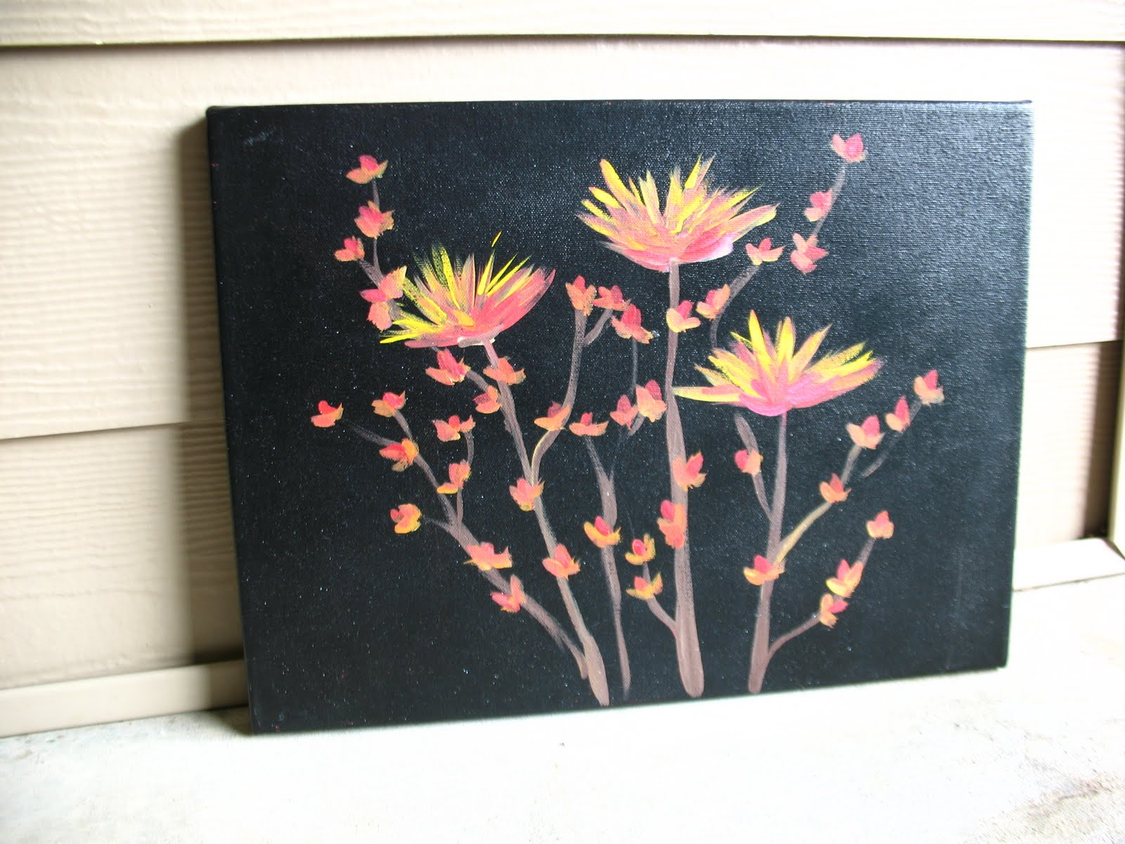 Elise engh studios modge podge canvas tutorial for Creative painting on canvas