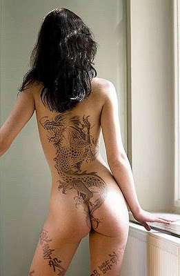 Dragon Tattoos for Sexy Women
