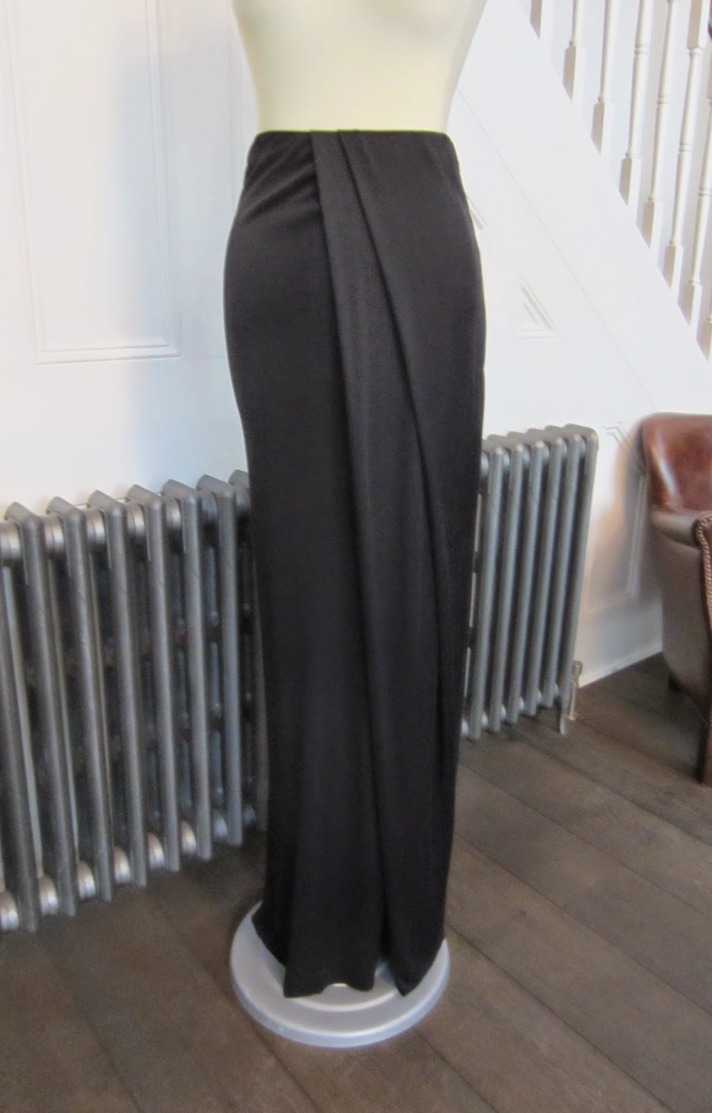 Josh Goot Long Black Skirt