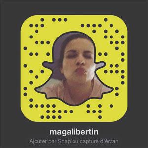 Suis-moi sur Snapchat !