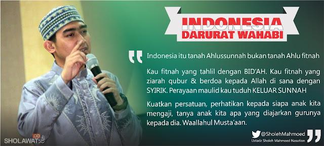 Dialog Dengan Ustad Solmed Tentang Indonesia Darurat Wahabi