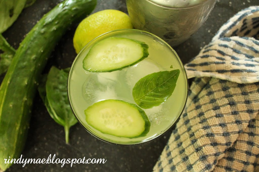 Rindy Mae: Cucumber-Basil Gimlet + Nine Years