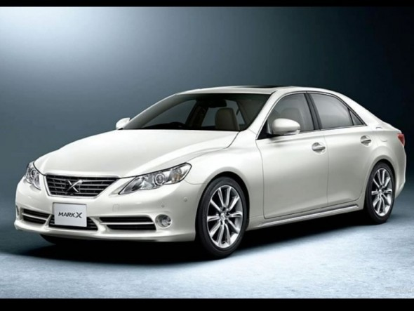 Cars World Toyota Mark X 2011