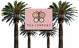 Logo of PGA Commons Shopping Mall Palm Beach Gardens Florida