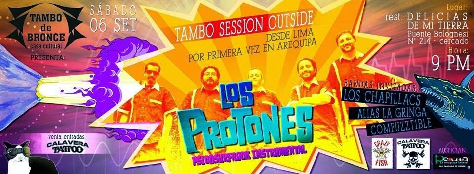 Los protones en Arequipa