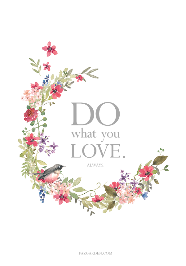 DO WHAT YOU LOVE CONTEST