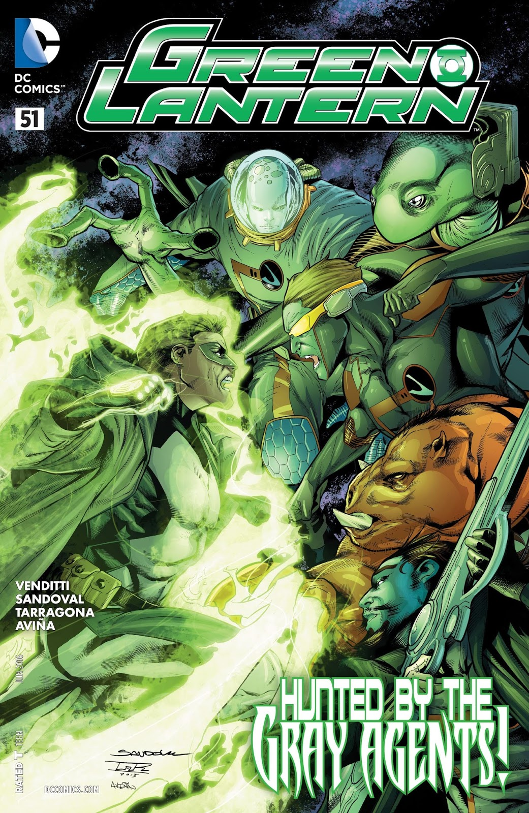 GREEN LANTERN#51