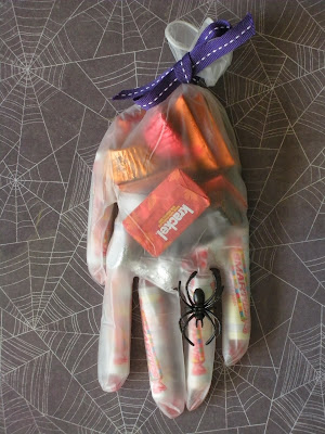 Halloween Favors, Candy, Surgical Gloves
