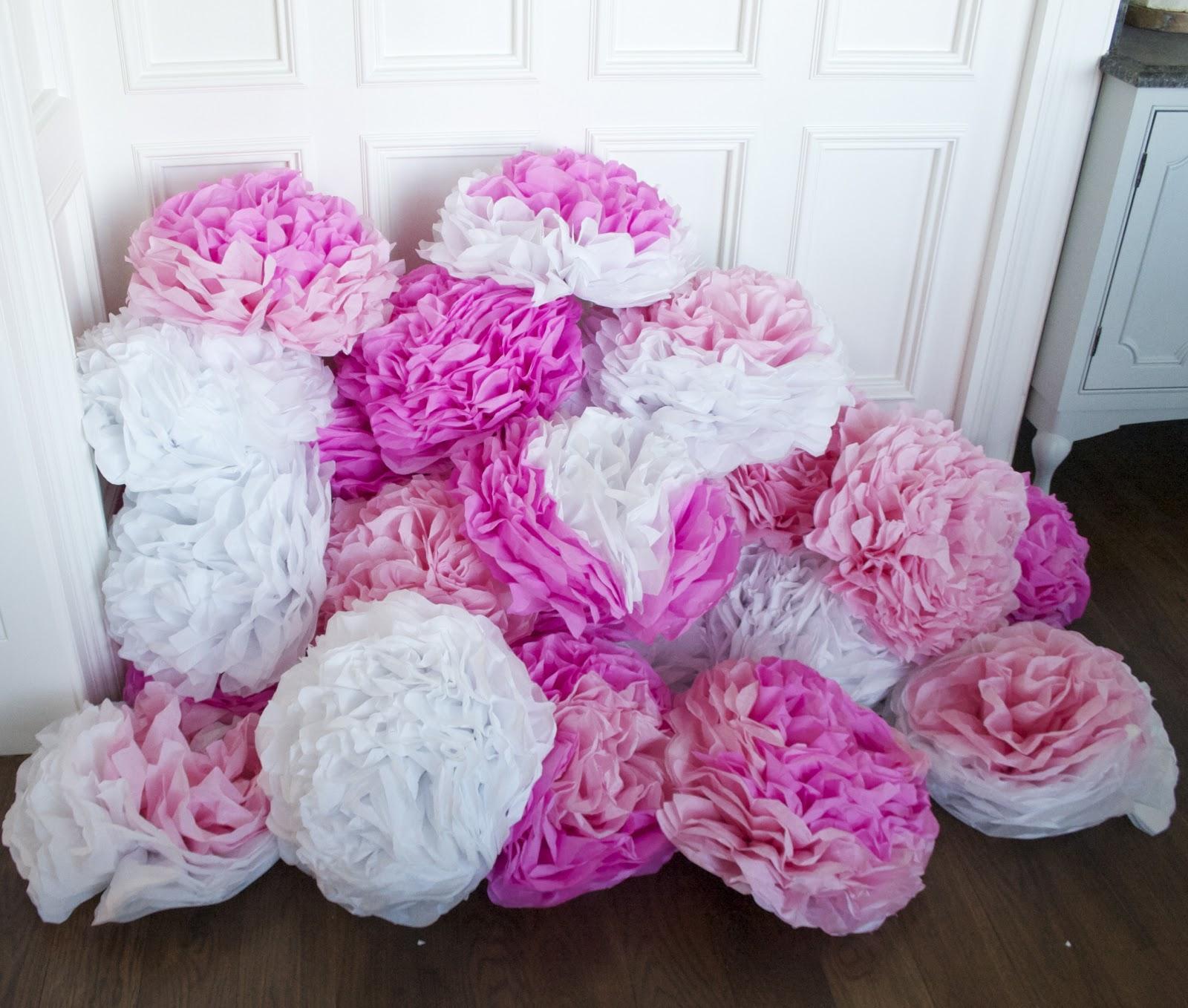 Nesting In The Bluegrass Diy Tissue Flowers