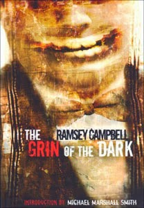 Portada original de The Grin of the Dark, de Ramsey Campbell