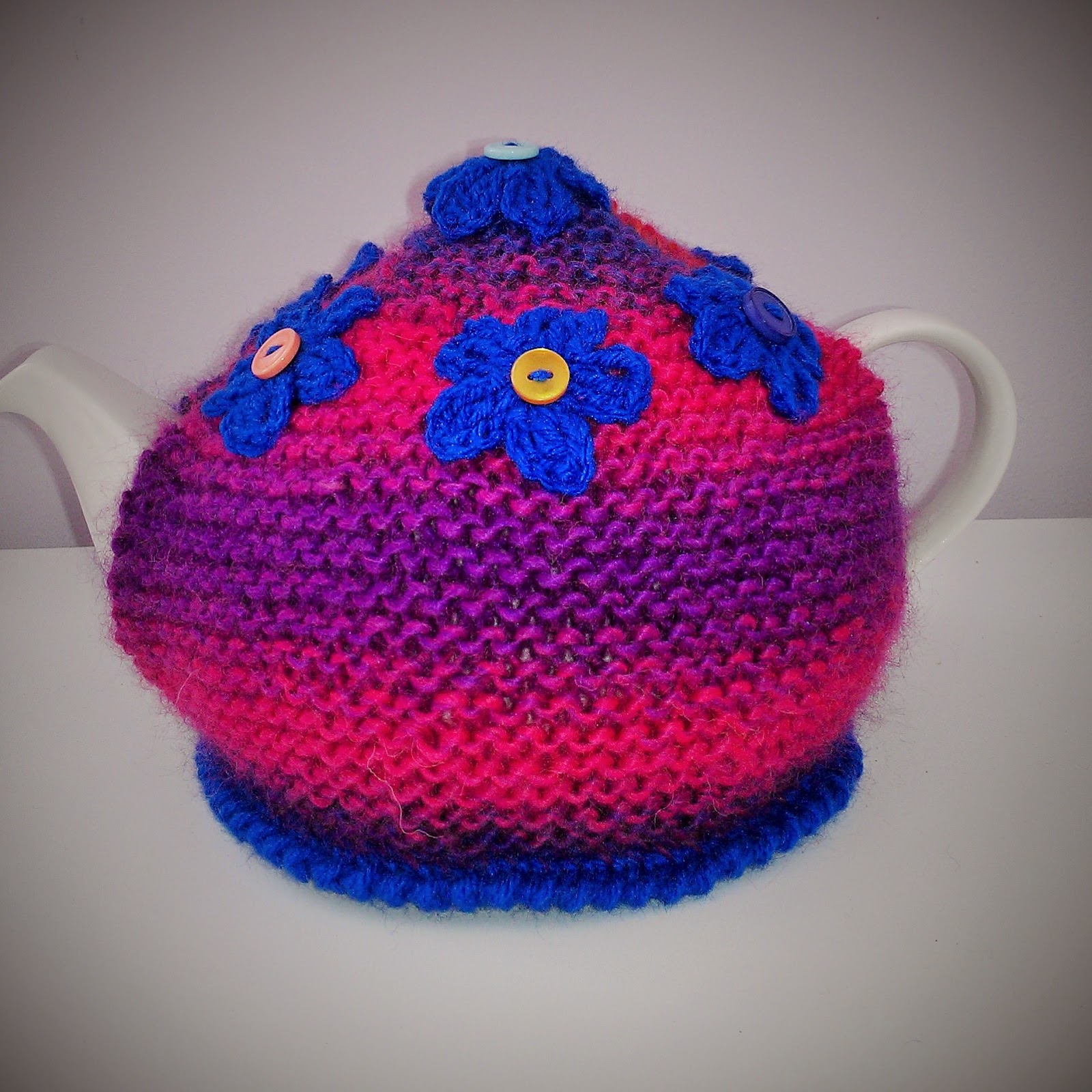 Basic Knitting Pattern For Tea Cosy : Craft a cure for cancer free tea cosy patterns: Basic ...