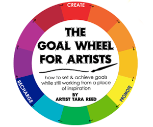 Goal Wheel for Artists