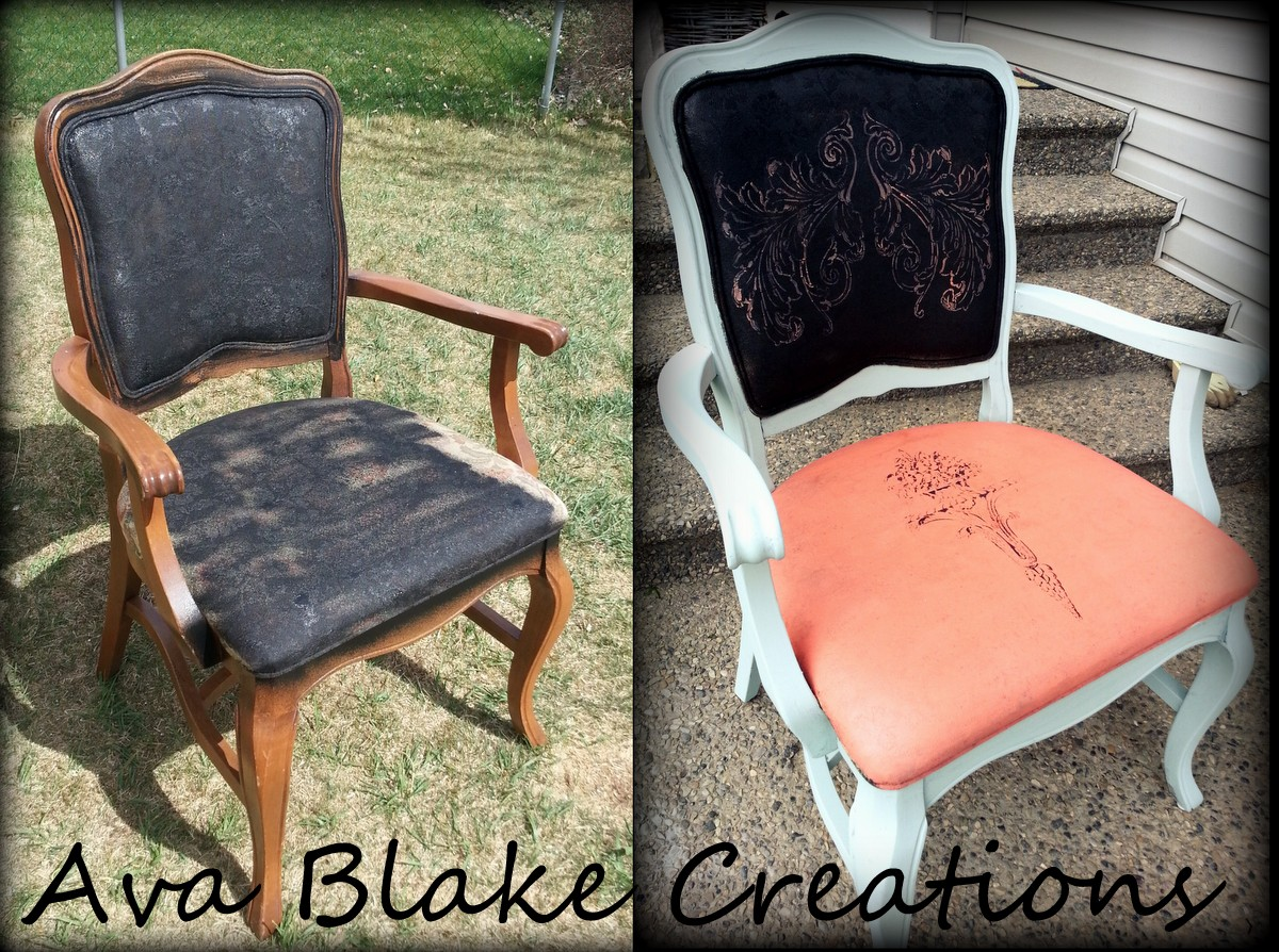 : painting fabric chairs - Cheerinfomania.Com
