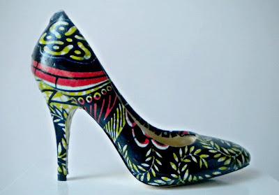 Miry By Carpe Diem ankara wax pumps - iloveankara.blogspot.com