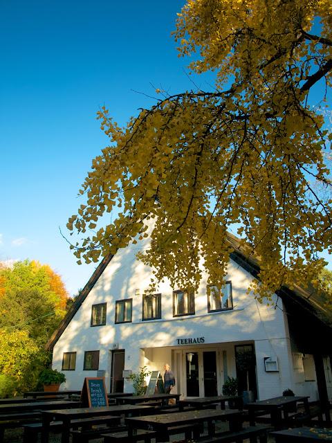 Teehaus junto al Englischer Garten, Tiergarten