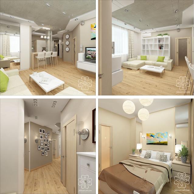 Как придумать самому дизайн квартиры