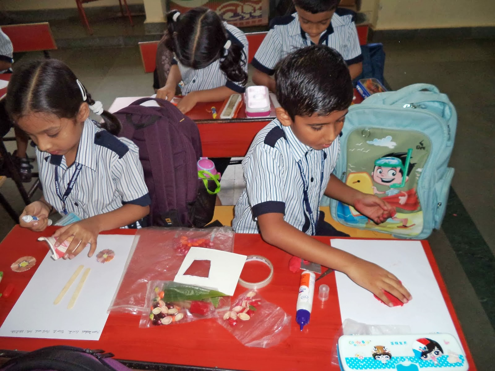 The rustomjee cambridge diaries grade 2 science best out for Best out of waste for class 1