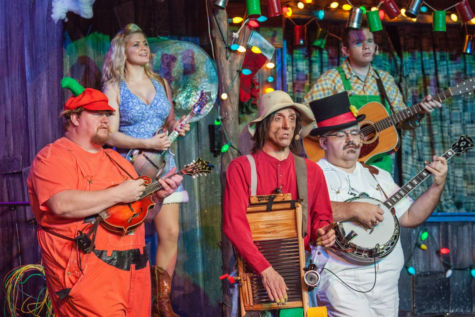 Comedy and music near Gatlinburg, Tennessee