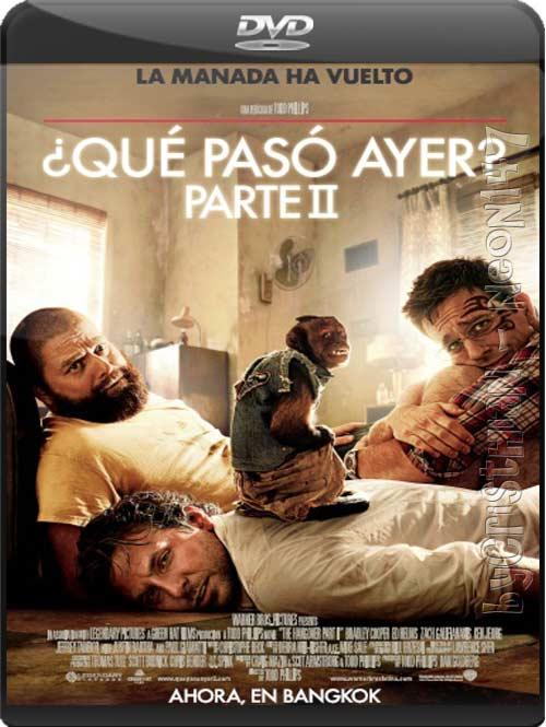¿Qué pasó ayer? Parte 2 (Español Latino) (TS-HQ) (Audio: AC3) (2011)