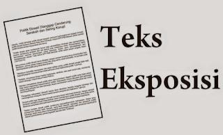 Pengertian, jenis dan contoh teks eksposisi - InfoTugas