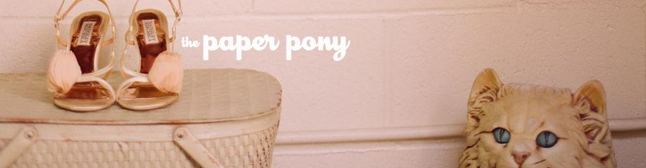 the paper pony