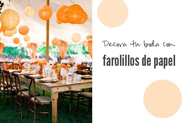 Boda bella decora tu boda con farolillos de papel - Farolillos de papel ...