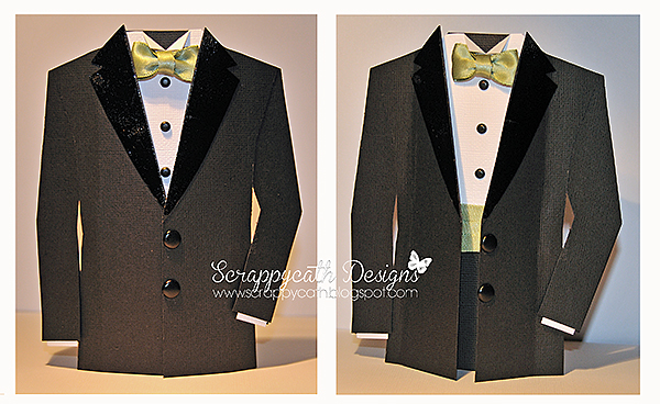 scraps of life tuxedo card revisited