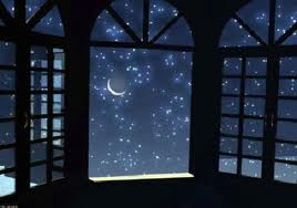 Eu, a madrugada e as estrelas