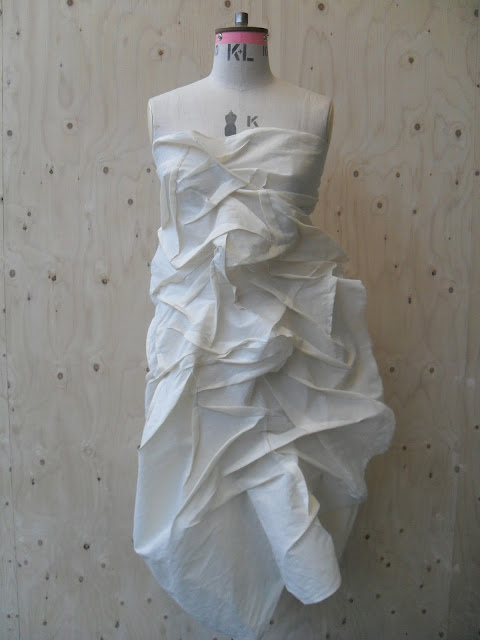 Pin Draping In Fashion Design And Window Trimming Arts On