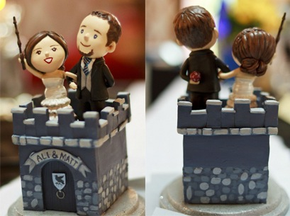 EPBOT Gorgeously Geeky Harry Potter Wedding