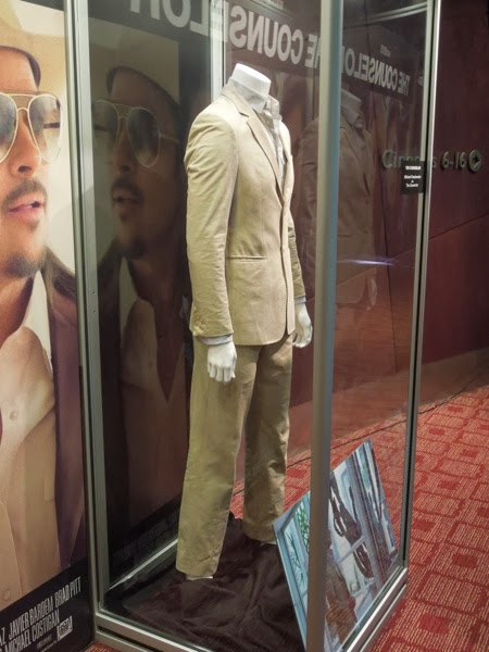 Michael Fassbender Counselor movie suit