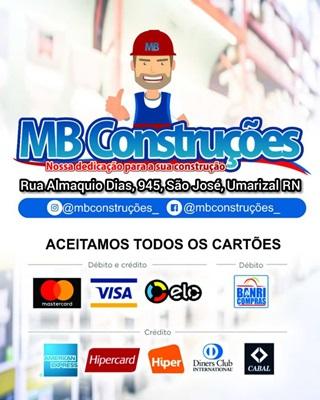 MB CONSTRUÇÕES: O local ideal de comprar material de construção