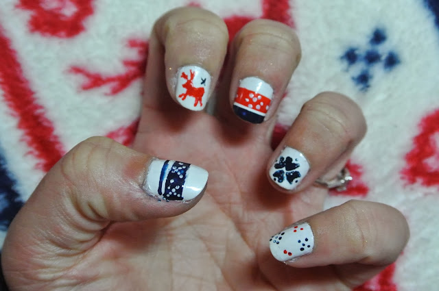 fairisle nails