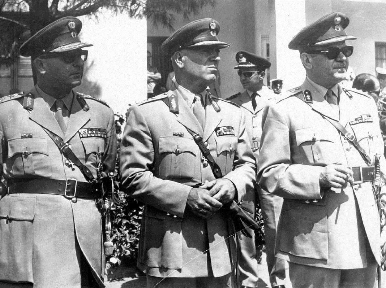 Siglo xxi gr ce quarante septi me anniversaire du coup for Ministre interieur 1960