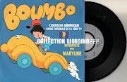 Boumbo par Maryline, générique du dessin animé (scan)