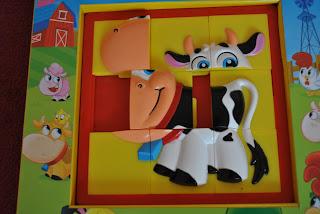 Carte puzzle Animale domestice