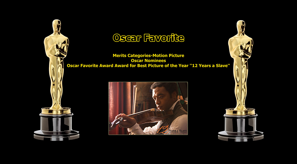 oscar favorite best picture award 12 years a slave