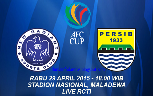 New Radiant vs Persib Piala AFC Cup 2015