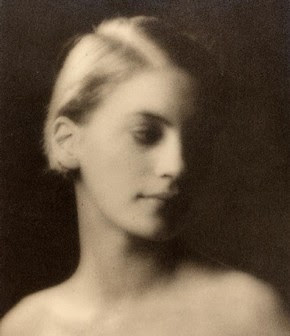 Lee Miller, photograph by Arnold Genthe, about 1927.