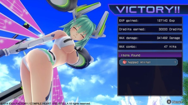 Hyperdimension Neptunia Re Birth1 PC Gameplay