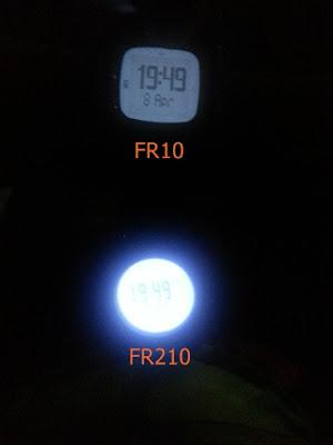 back light ของนาฬิกา garmin FR10