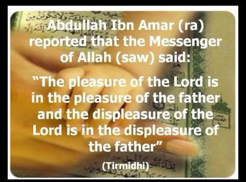 Image result for islamic quotes about parents pictures in english