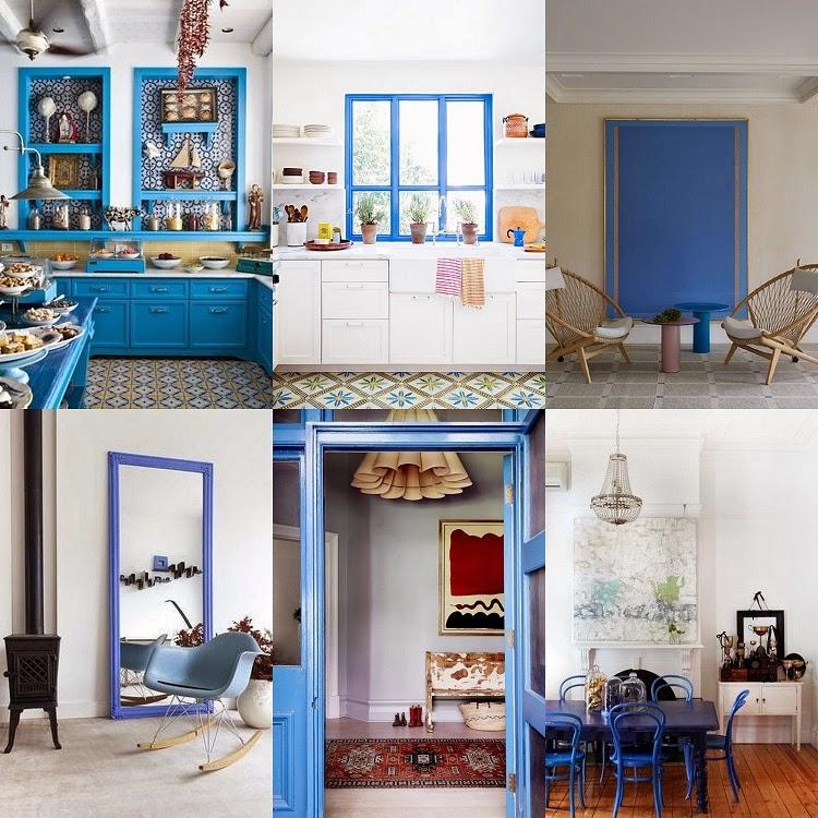 Brightly Painted Doors, Furniture U0026 Woodwork
