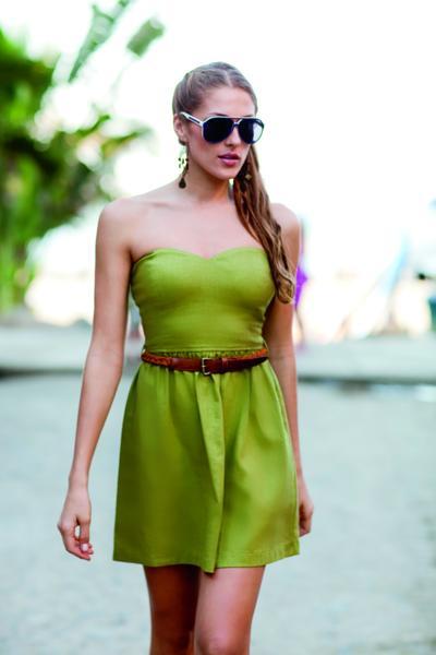 Vestidos para fiesta de dia color verde
