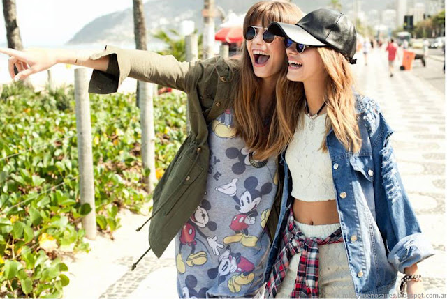 Moda juvenil y urbana verano 2016. 47 Street primavera verano 2016.