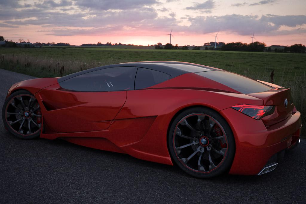 Bmw Z10 Red Cars