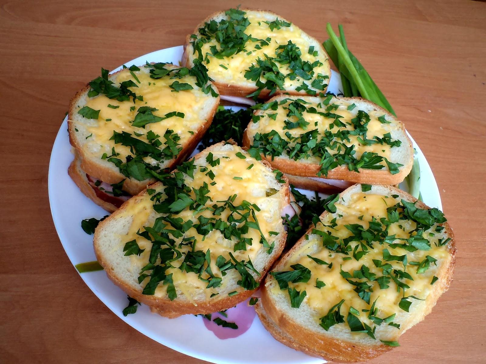 Горячие бутерброды подборка 124 рецептов пошаговых с фото 3