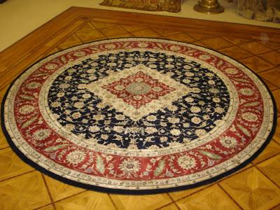 8 foot round rug