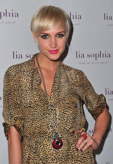 Short hairstyle Inspiration From Celebrity Ashlee Simpson