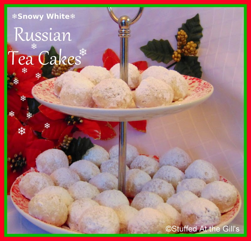 Stuffed At the Gill's: Russian Tea Cakes